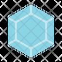 Polygonal Diamond Icon