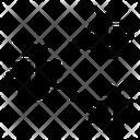 Polymorphic Virus Spreading Virus Spreaded Icon