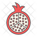 Pomegranate Fruit Punica Icon
