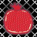 Pomegranate Fruit Food Icon