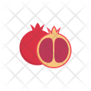 Pomegranate Fruit Food Icon