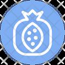 Pomegranate Spherical Fruit Fruit Icon