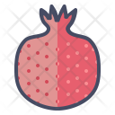Pomegranate Pom Fruit Icon