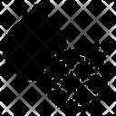 Fruit Icon Glyph Style Includes Apple Lemon Papaya Etc Icon