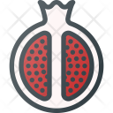 Pomegranate Fruit Health Icon