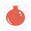 Pomegranate Food Fruit Icon