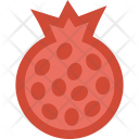 Pomegranate Fruit Icon