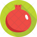 Pomegranate Fruit Eat Icon