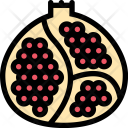 Pomegranate Vegetables Fruit Icon