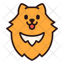 Pomeranian Dog Puppy Icon