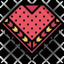 Poncho Clothes Icon