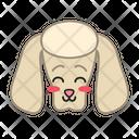 Poodle Dog Smiling Icon