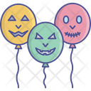 Pooky Balloons Halloween Balloons Theme Party Icon