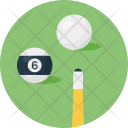 Table Snooker Pool Icon