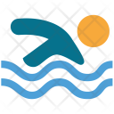 Pool Swimmer Swimming Icon