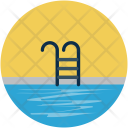 Pool Staircase Summer Icon