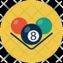 Pool Snooker Billards Icon