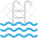 Pool Ladders Swimmer Icon