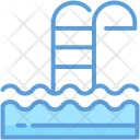 Pool Stairs Steps Icon