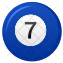 Billiard Ball Seven Icon