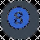 Ball Ball Eight Billiard Icon
