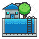 Pool house Icon