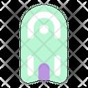 Pool Kickboard Icon