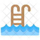 Pool Ladder Stairs Icon