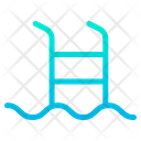 Swimming Pool Pool Ladder Steps Icon