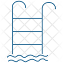Pool Swimming Ladder Icon
