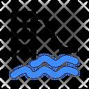 Pool Slides Icon