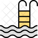 Pool Stairs Icon