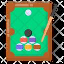Snooker Billiard Pool Table Icon