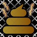 Poop Faeces Animal Icon