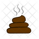Shit Stinky Dung Icon