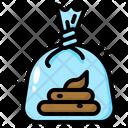 Dog Poop Poop Clean Up Waste Poop Bag Pet Cat Icon