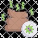 Poop Virus Icon