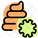 Poop Virus Disease Infection Icon