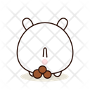 Pooping Kawaii Cute Icon
