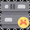 Bad Poor Server Poor Database Icon