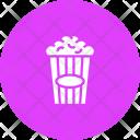 Pop Corn Snack Icon