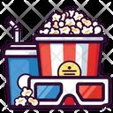 Corn Pop Glasses Icon