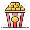 Cinema Snacks Takeaway Food Food Bucket Icon
