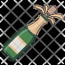 Alcohol Bottle Celebration Icon