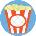 Popcorn Kettle Corn Icon