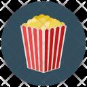 Popcorn Food Icon
