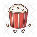 Popcorn Cinema Snack Icon