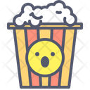 Popcorn Movie Cinema Icon