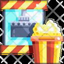 Popcorn Popcorn Machine Corn Icon