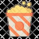 Popcorn Snacks Food Icon